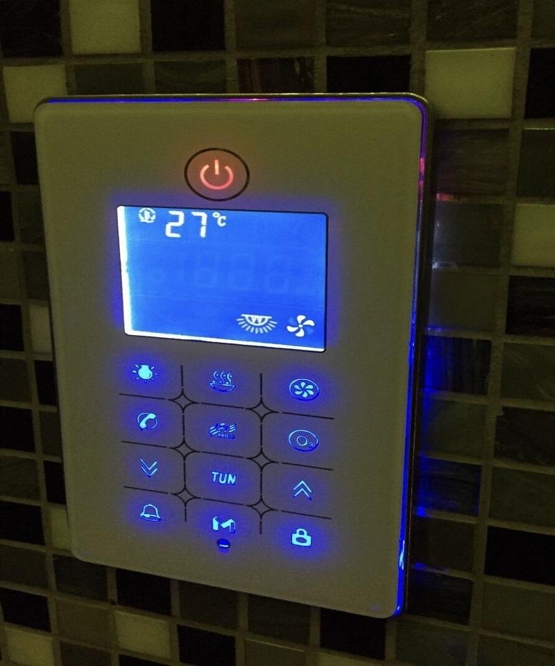 Kit bagno turco 9 kw per bagno turco di max 13 mc con - Coibentazione bagno turco ...